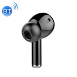 M-A8 Macaron Business Single Wireless Bluetooth Earphone V5.0 with Charging Cable (Black)