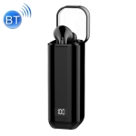 M-A8 Macaron Business Single Wireless Bluetooth Earphone V5.0 with Digital Display Charging Case (Black)