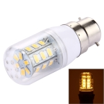 B22 2.5W LED Corn Light 24 LEDs SMD 5730 Bulb, AC 12-80V (Warm White)