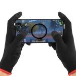 A Pair Nylon + Conductive Fiber Non-slip Sweat-proof Touch Screen Breathable E-sport Gloves