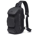BANGE Fashion Travel Chest Bag Business Backpack Single Shoulder Bag (Black)