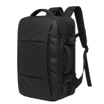 BANGE Business Backpack Men Travel Waterproof Large Capacity Computer Shoulders Bag (Black)