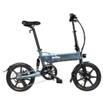 [EU Warehouse] Fiido D2S 250W Three-speed 16 inch 36V 7.8Ah Foldable Electric Bicycle Scooter(Grey)