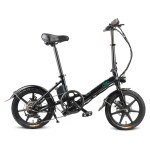 [EU Warehouse] Fiido D3S 7.8Ah 250W Three-speed 16 inch Foldable Electric Bicycle Scooter(Black)