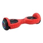 [EU Warehouse] Fire Kirin 6.5 inch Balance Scooter 350W 2.0Ah Two-wheeled Scooter with Bluetooth & Remote Control & Wheel Lights & Car Bag, Max speed :15km/h(Flame Red)