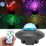 10W Bluetooth Water Ripple Laser Star Projector Light