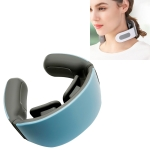 4-head Neck Protector Pulse Multifunctional Intelligent Cervical Massager Rechargeable Version(Blue)