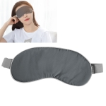 Baseus Steam Series Heating Steam Eye Mask Sleep Eye Mask with 2 Packs of Hot Pack Replacement (Grey)