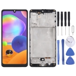 TFT Material LCD Screen and Digitizer Full Assembly With Frame for Samsung Galaxy A31 / SM-A315 (Black)