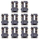 10 PCS Earphone Jack for Huawei Nova 3e