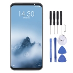TFT Material LCD Screen and Digitizer Full Assembly With Frame (Note Not Supporting Fingerprint Identification) for Meizu 16 Plus
