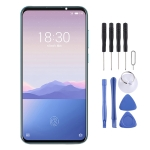 TFT Material LCD Screen and Digitizer Full Assembly With Frame (Note Not Supporting Fingerprint Identification) for Meizu 16Xs
