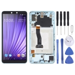 LCD Screen and Digitizer Full Assembly With Frame for HTC U19e (Green)
