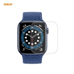 For Apple Watch Series 6/5/4/SE 40mm ENKAY Hat-Prince 3D Full Screen PET Curved Hot Bending HD Screen Protector Film(Transparent)