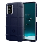 For OPPO Realme 7 Pro Full Coverage Shockproof TPU Case(Blue)