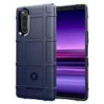 For OPPO Realme 7 Full Coverage Shockproof TPU Case(Blue)