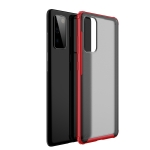 For Samsung S20 FE 5G Four-corner Shockproof TPU + PC Protective Case(Red)