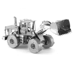 3D Metal Assembly Model Engineering Vehicle Series DIY Puzzle Toy, Style:Loader