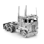 3D Metal Assembly Model Engineering Vehicle Series DIY Puzzle Toy, Style:COE Truck