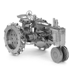 3D Metal Assembly Model Engineering Vehicle Series DIY Puzzle Toy, Style:Tractor