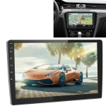 Universal Machine Android Smart Navigation Car Navigation DVD Reversing Video Integrated Machine, Size:10inch 1+16G, Specification:Standard+8 Lights Camera