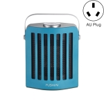 FUSHIAI Office Table Mini Small PTC Heater Desktop Quick Heat Silent Heater, Style:AU Plug(Green)