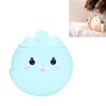 Cartoon Silicone Mini Warm Belly Warm Palace Water Injection Explosion-Proof Warm Water Bag(Sky Blue)