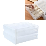 Household Drawer Dumpling Box Refrigerator Storage Box, Specification: Four Layers