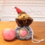 2 PCS Christmas Gift Bag Hollow Pattern Candy Bag(Bear)