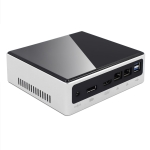 HYSTOU M3 Windows / Linux System Mini PC, Intel Core I7-10510U 4 Core 8 Threads up to 4.90GHz, Support M.2, 32GB RAM DDR4 + 1TB SSD 500GB HDD