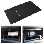 CSB059 Hand Box Partition Glove Storage Box Layered Sorting Board for Toyota Tacoma (Black)