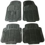 [US Warehouse] 4 PCS Replacement Anti-slip Rubber Car Floor Mats 88209(Black)