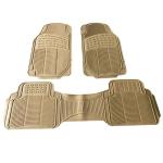 [US Warehouse] 3 PCS Replacement Anti-slip Rubber Car Floor Mats 88241(Beige)
