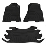 [US Warehouse] Crew Cab 1st and 2nd Row Floor Mats for Dodge Ram 1500 2500 3500 2012-2019