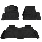 [US Warehouse] Crew Cab Floor Mats for Ford F-150 2015-2020