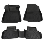 [US Warehouse] Floor Mats Liners for Honda Accord Sedan Front Rear All Weather 2018-2020