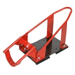 [US Warehouse] Adjustable Steel Motorcycle Front Wheel Chock for 17-21 inch Motorcycle Front Wheels(Red)