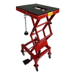 [US Warehouse] Steel Hydraulic Motorcycle Lifting Adjustable Platform, Load-bearing: 300lbs