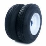 [US Warehouse] 2 PCS 4.80-8 4Lug 4PR P819 Trailer Replacement Tires
