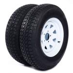 [US Warehouse] 2 PCS 5.30-12 5Lug 6PR P811 Replacement Rear Tires