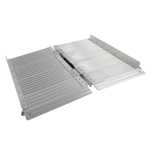 [US Warehouse] 2FT Two-section Foldable Aluminum Wheelchair Ramps