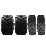[US Warehouse] 4 PCS 25×10-12 25-10-12 4PR Z-134 ATV Replacement Tubeless Tires