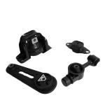[US Warehouse] 4 PCS Car Engine Motor Mount Adapter Set for Nissan Versa 1.8L 2007-2012 / Cube 1.8L 2009-2014 A4323 / A4320 / A4318 / A4312