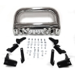 [US Warehouse] Car Heavy Duty Steel Front Bumper Grille Guard for Dodge Ram 1500 2009-2018 Chrome