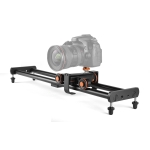 YELANGU L4X-BE YLG1817A 60cm Aluminum Alloy Splicing Slide Rail Track + 3-Wheel Video Pulley Rolling Dolly Car for SLR Cameras / Video Cameras