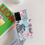 For Samsung Galaxy S20 Laser Flowers Pattern TPU Protective Case(Fresh Red Flower)