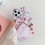 Plating Splicing Pattern Soft TPU Protective Case for iPhone 11(Apple Blossom)