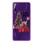 For Huawei Y6p Christmas Series Transparent TPU Protective Case(Christmas Pajamas)