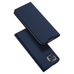 For OPPO F17 Pro DUX DUCIS Skin Pro Series Horizontal Flip PU + TPU Leather Case with Holder & Card Slots(Blue)