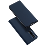 For OPPO Realme 7 DUX DUCIS Skin Pro Series Horizontal Flip PU + TPU Leather Case with Holder & Card Slots(Blue)